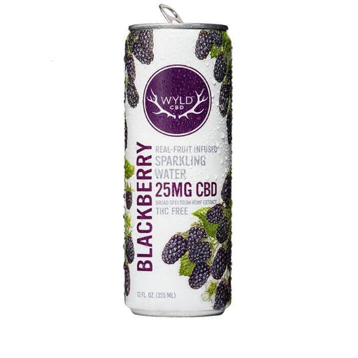 Wyld CBD Blackberry Sparkling Water