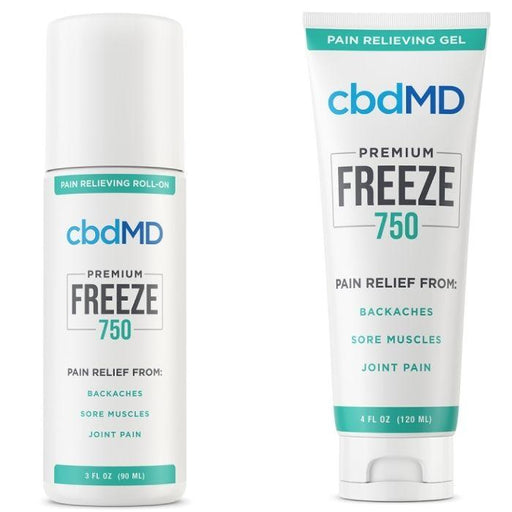 cbdMD Pain Relieving CBD Freeze Roller/Squeeze