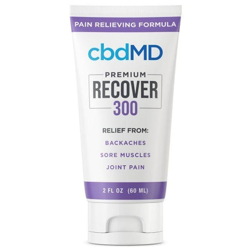 cbdMD Pain Relieving CBD Recover Tub/Squeeze