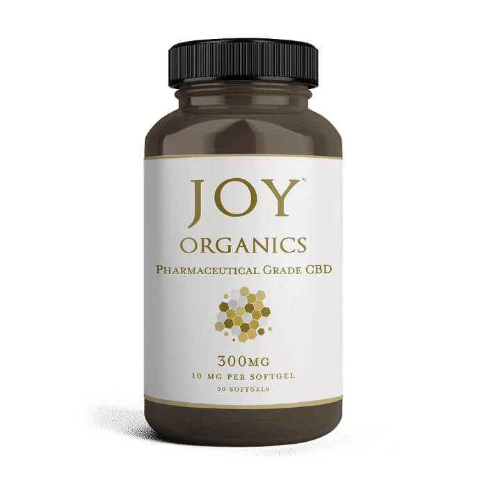 10MG Hemp Oil Soft Gels by Joy Organics
