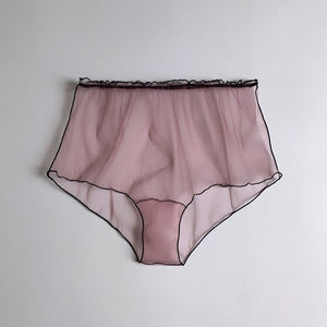 NKD.NOIR HIGH WAIST PANTY ROSE COLOR