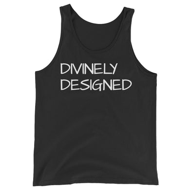 """Divinely Designed"" Mens Tank - Divine Design Fitness"