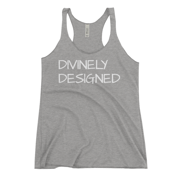 """Divinely Designed"" Womans Tank - Divine Design Fitness"