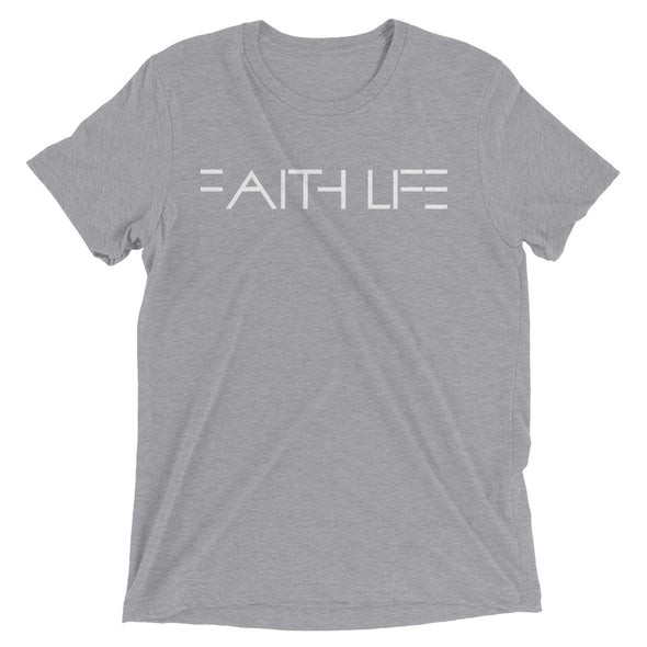"""FAITH LIFE"" Unisex T-Shirt - Divine Design Fitness"