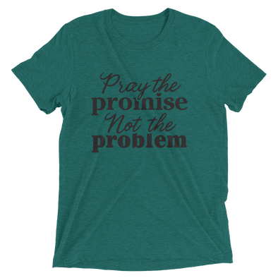 """Pray the Promise"" Unisex T-Shirt - Green - Divine Design Fitness"