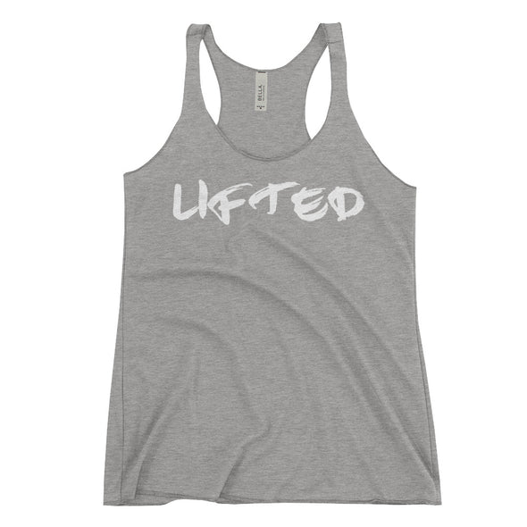"""LIFTED"" Womans Tank - Divine Design Fitness"