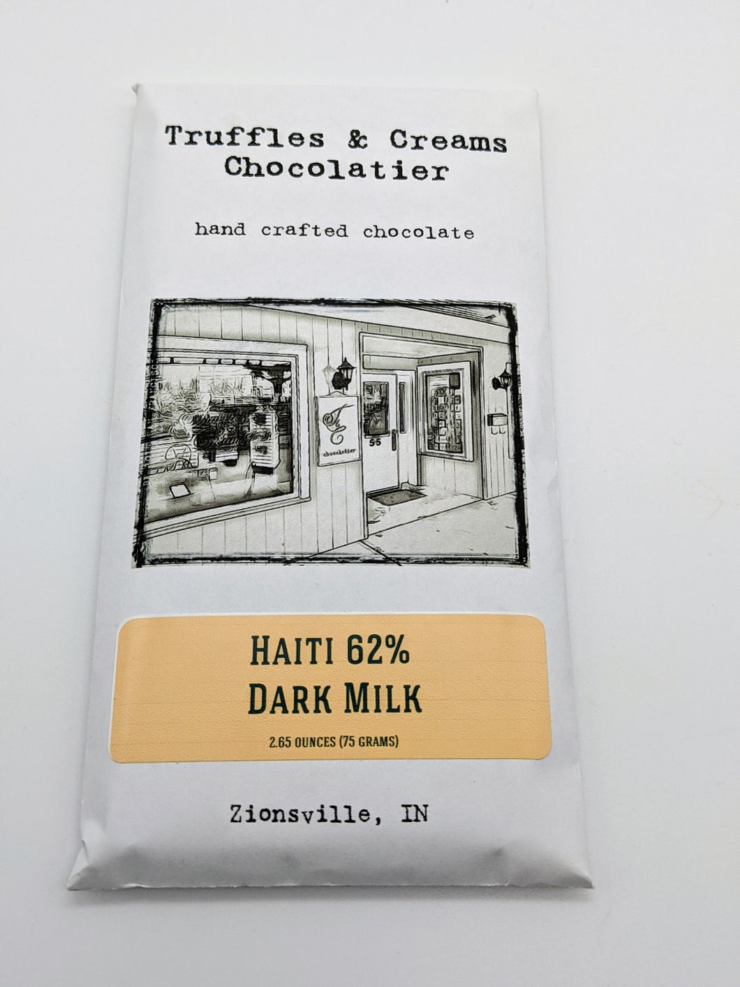 Dark Milk Chocolate Bar