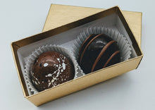 Load image into Gallery viewer, Signature Chocolate Truffles (a box of 2)
