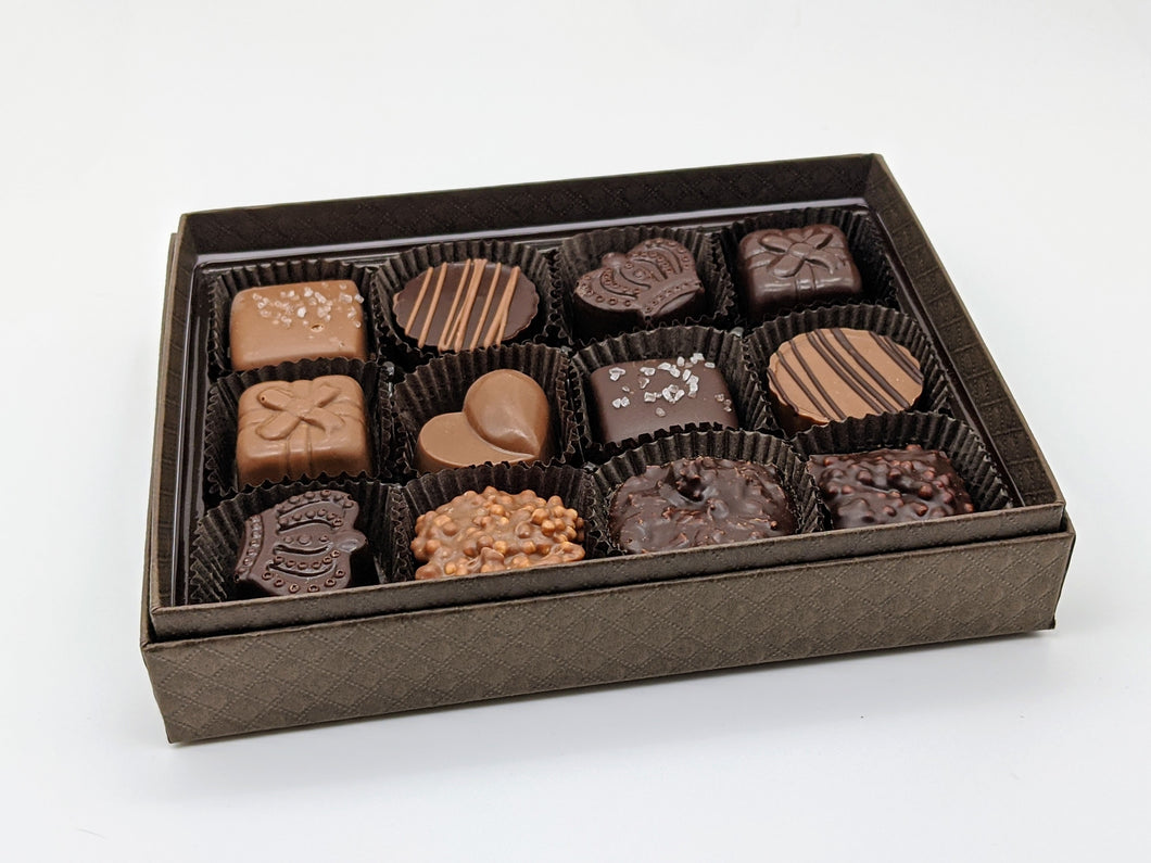 Assorted Chocolates (a box of 12)