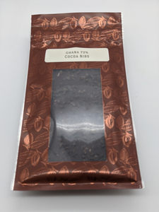 Dark Chocolate 73% with Cocoa Nibs