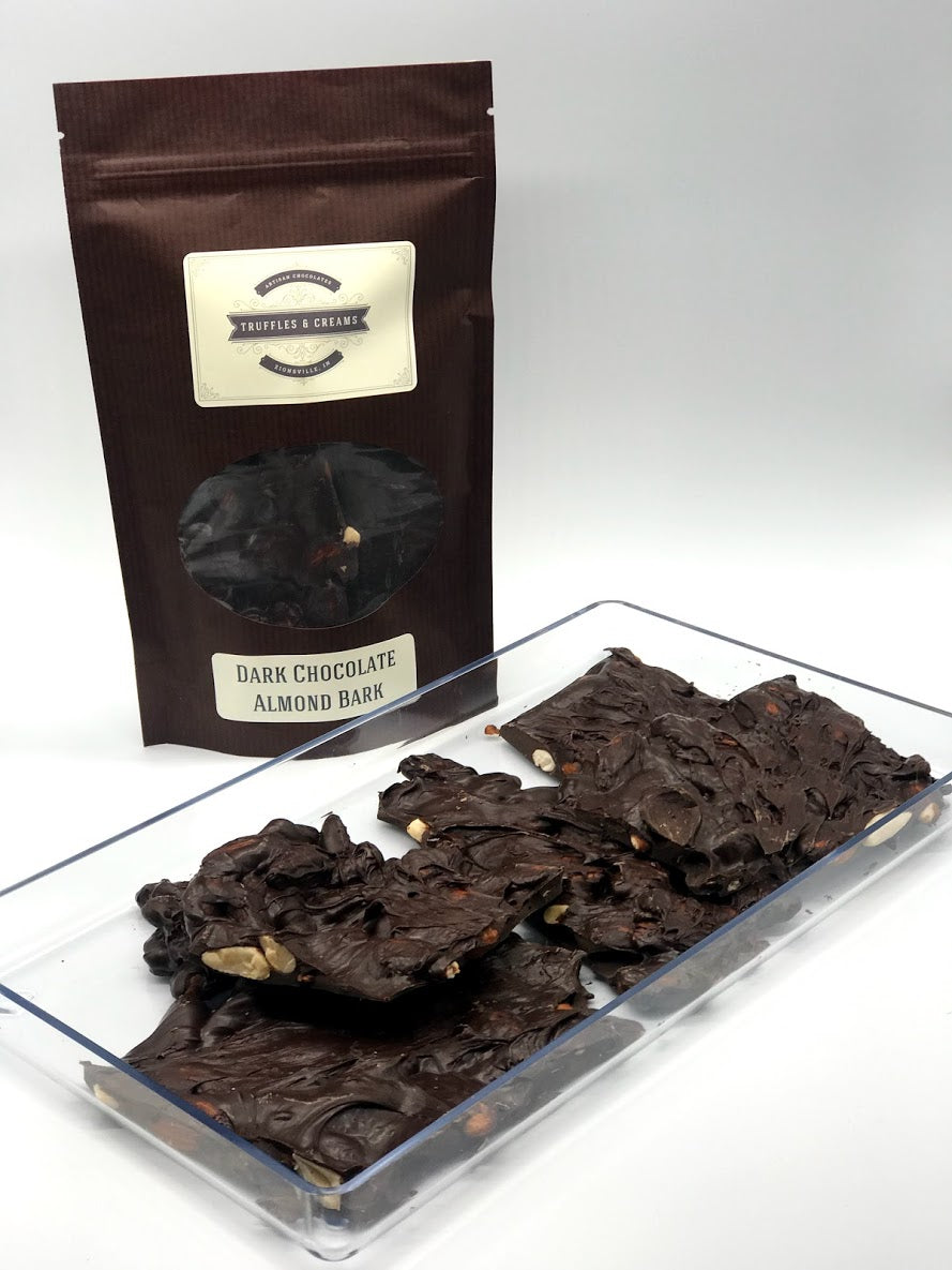 Dark Chocolate Almond Bark, 0.46 pound