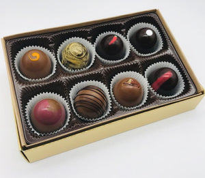 Signature Chocolate Truffles (a box of 8)