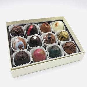 Signature Chocolate Truffles (a box of 12)