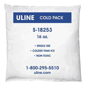 Isolation pack with ice