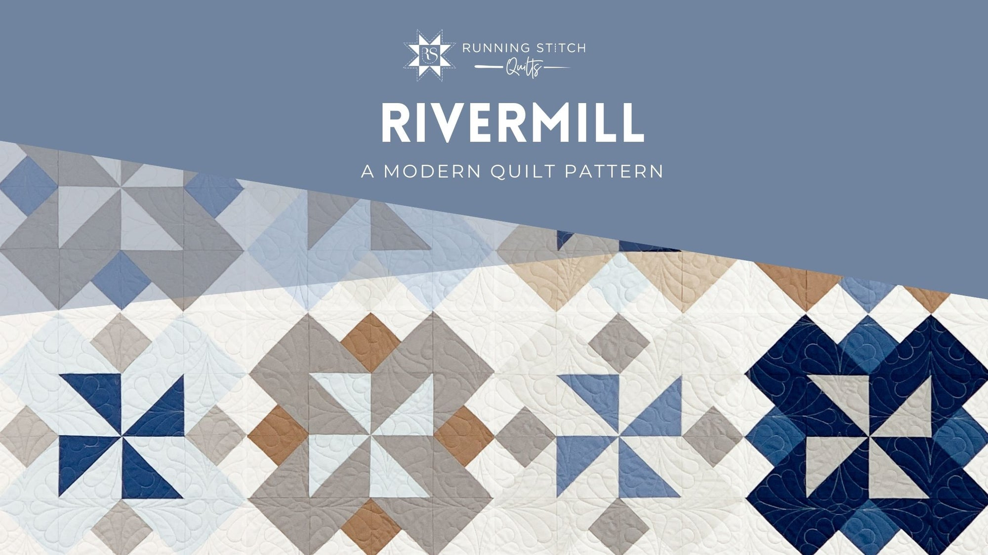 Rivermill Quilt Pattern - The Solids One