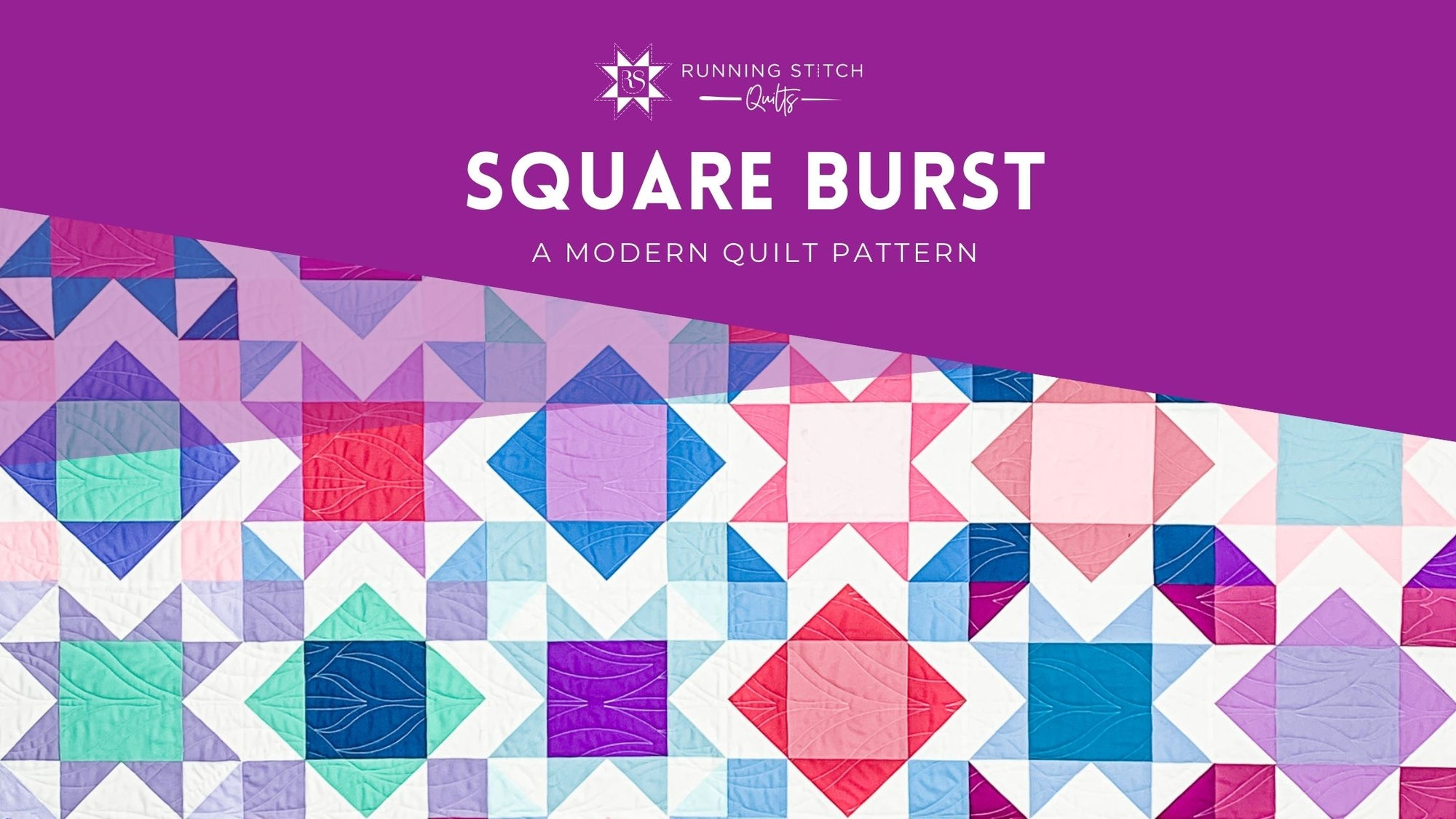 Square Burst 2.0 - The Cover Quilt