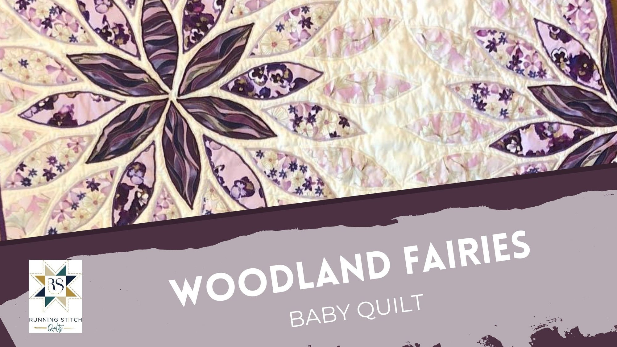 Woodland Fairies Baby Quilt