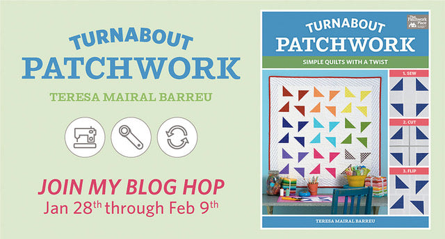 Turnabout Patchwork Blog Hop + GIVEAWAY