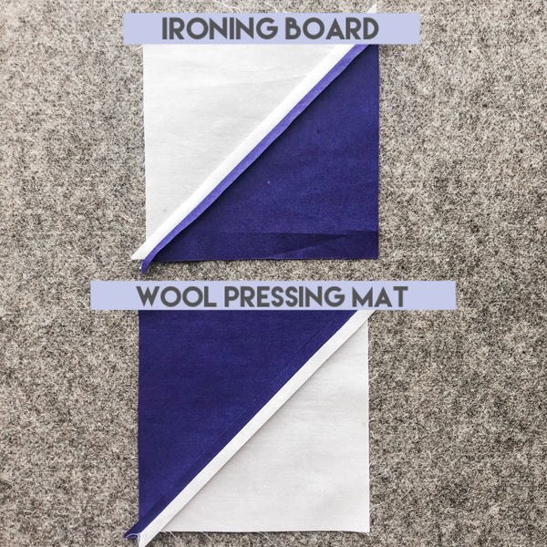 Honest review of the Project Wool Pressing Mat by Julie of Running Stitch Quilts.