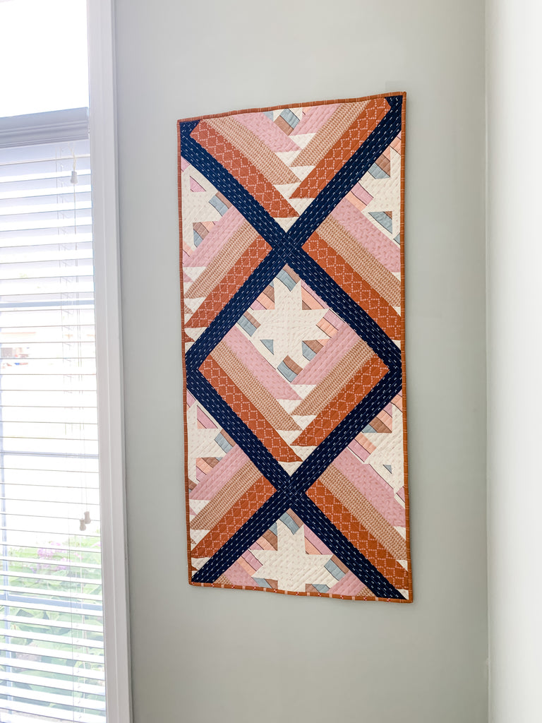 Mountain Valley Quilt by Julie Burton of Running Stitch Quilts