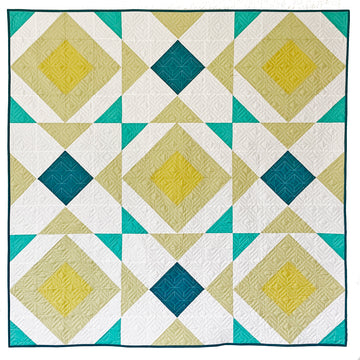 PREORDER Noughts and Crosses Quilt Pattern - PRINTED