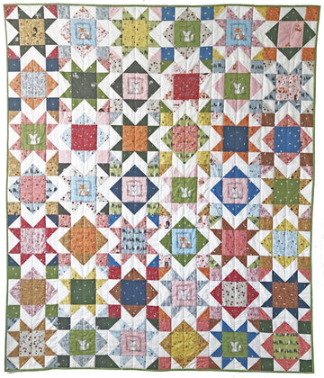 Square Burst Quilt Pattern - PDF