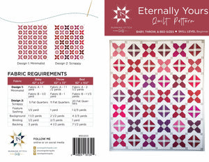 Eternally Yours Quilt Pattern - PDF
