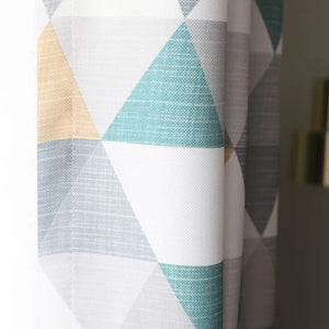 Triangle Geometry Curtains