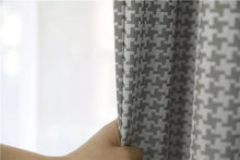 Load image into Gallery viewer, Houndstooth Curtains
