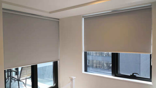 Custom Flat Roller Blinds per square meter