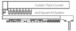 Single Hand Draw Curtain Tracks