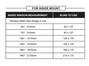Prepacked Wooden Blind 35mm