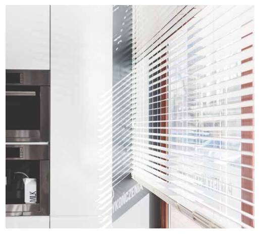 Prepacked PVC Venetian Blind 25mm