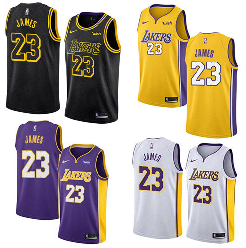 00911af14e0a ... promo code for mens los angeles lakers lebron james swingman jersey  stitched edition 4 color e58c6