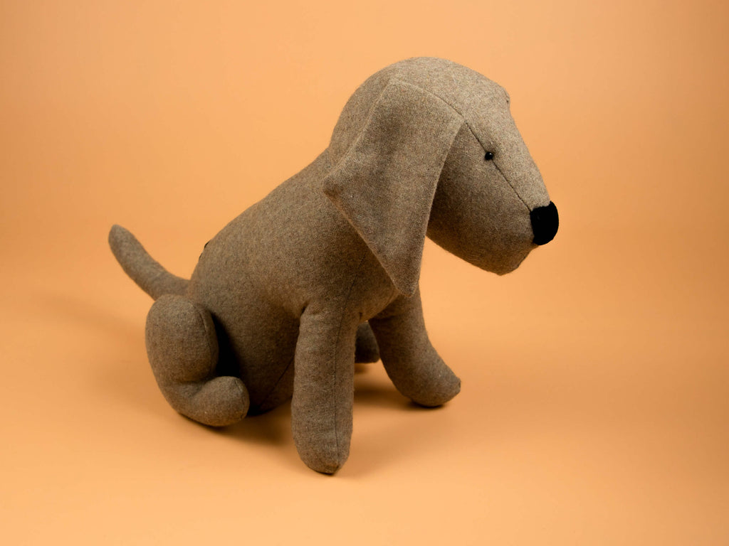 Coffee The New Guy - Doggie Figure
