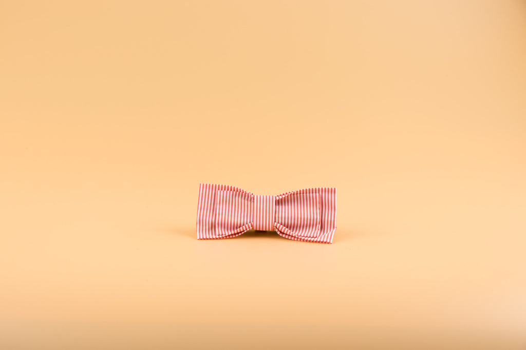 Summer Red - Dog Bow Tie