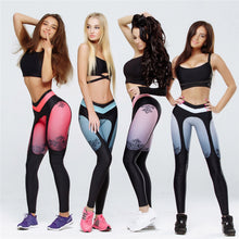 Europe and the United States cross-border explosion models 2018eBay spring hot new women's fashion stitching yoga sports leggings
