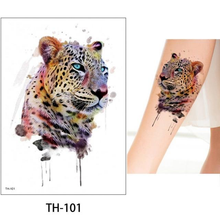 Half arm tattoo sticker flower arm tattoo sticker