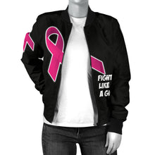 Fight Like A Girl Bomber Jacket