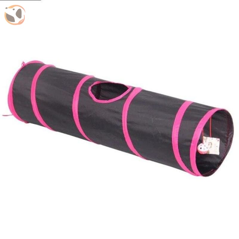 3 Holes Funny Pet Cat Tunnel - 88x25x25cm N