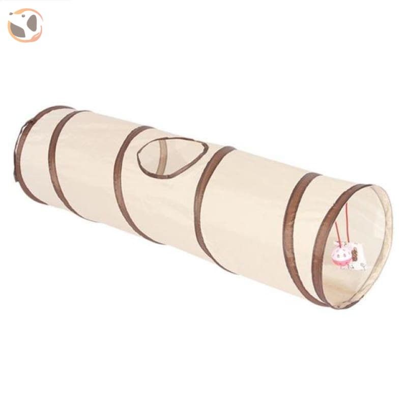 3 Holes Funny Pet Cat Tunnel - 88x25x25cm O