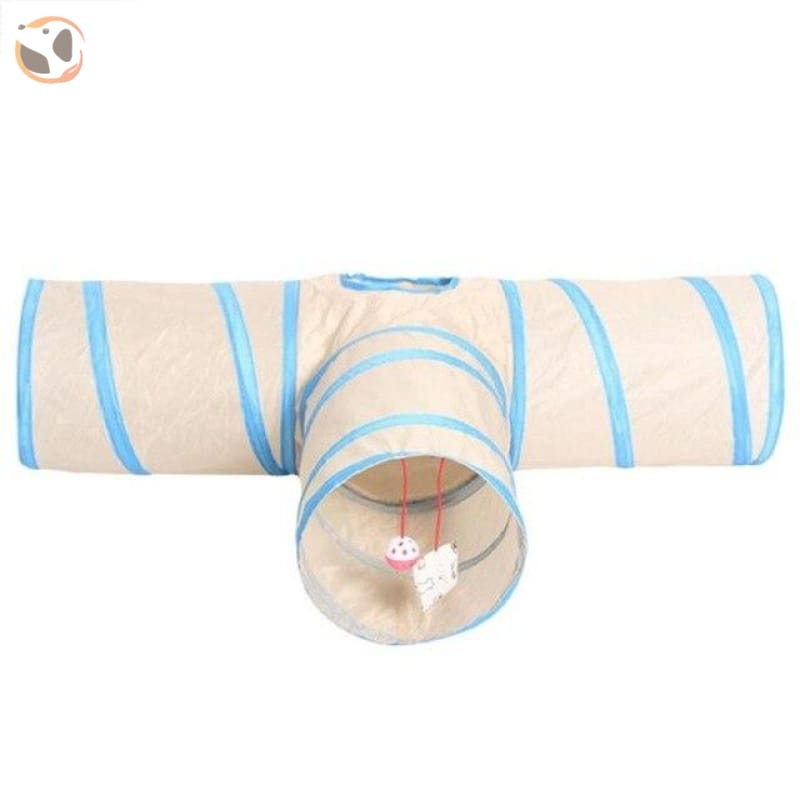 3 Holes Funny Pet Cat Tunnel - 95x42x25cm L