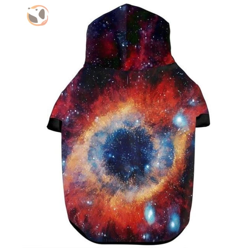 3D Printed Universe Design Dog Hoodies - As Picture 3 / S