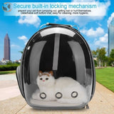 Breathable Cat Carrier Backpack - Black