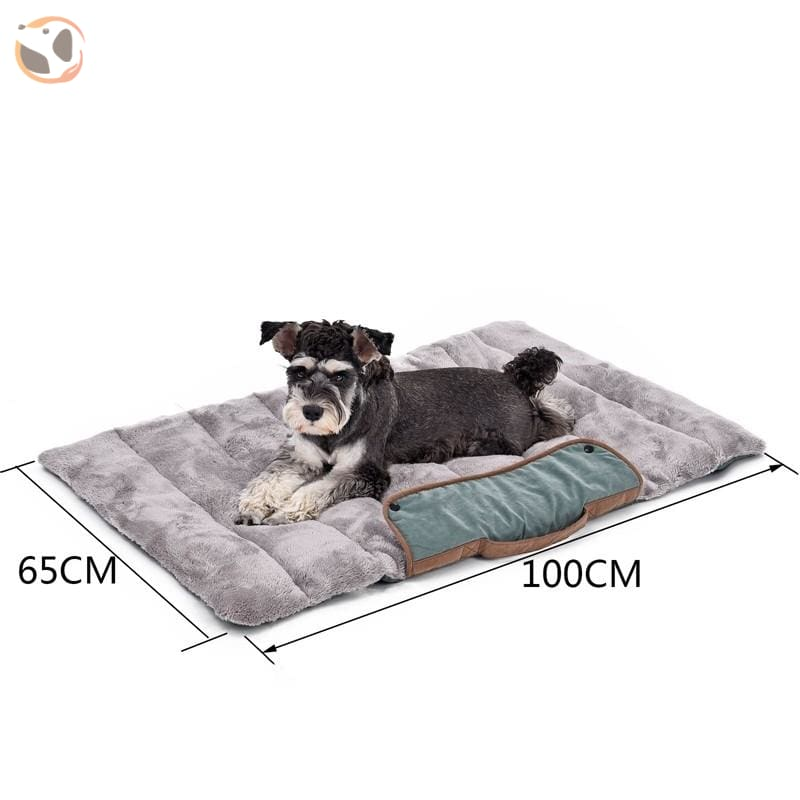 Breathable Cushion Bed Mat For Dogs - Blue