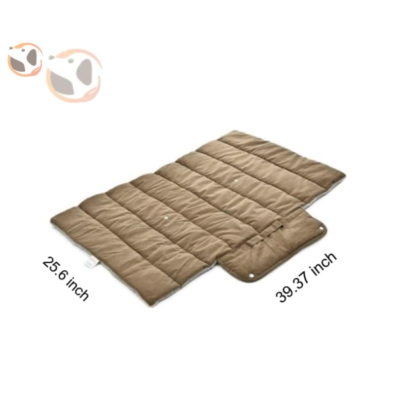 Breathable Cushion Bed Mat For Dogs - Brown