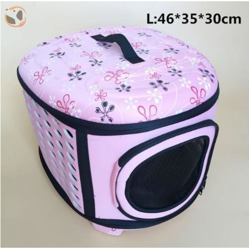 Cat Carrier Handbag - Pink L