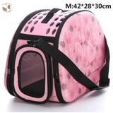 Cat Carrier Handbag - Pink M