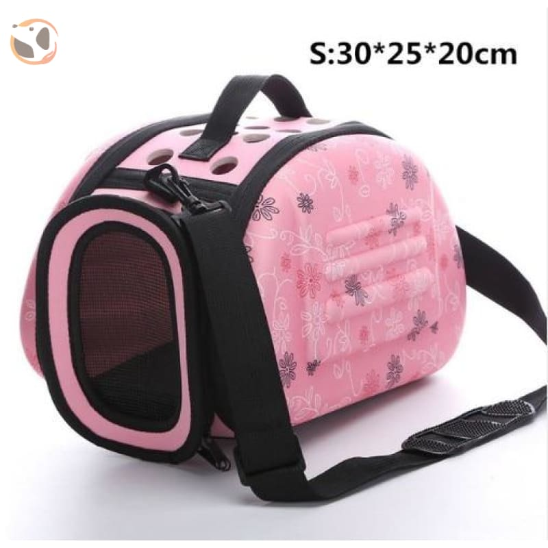 Cat Carrier Handbag - Pink S