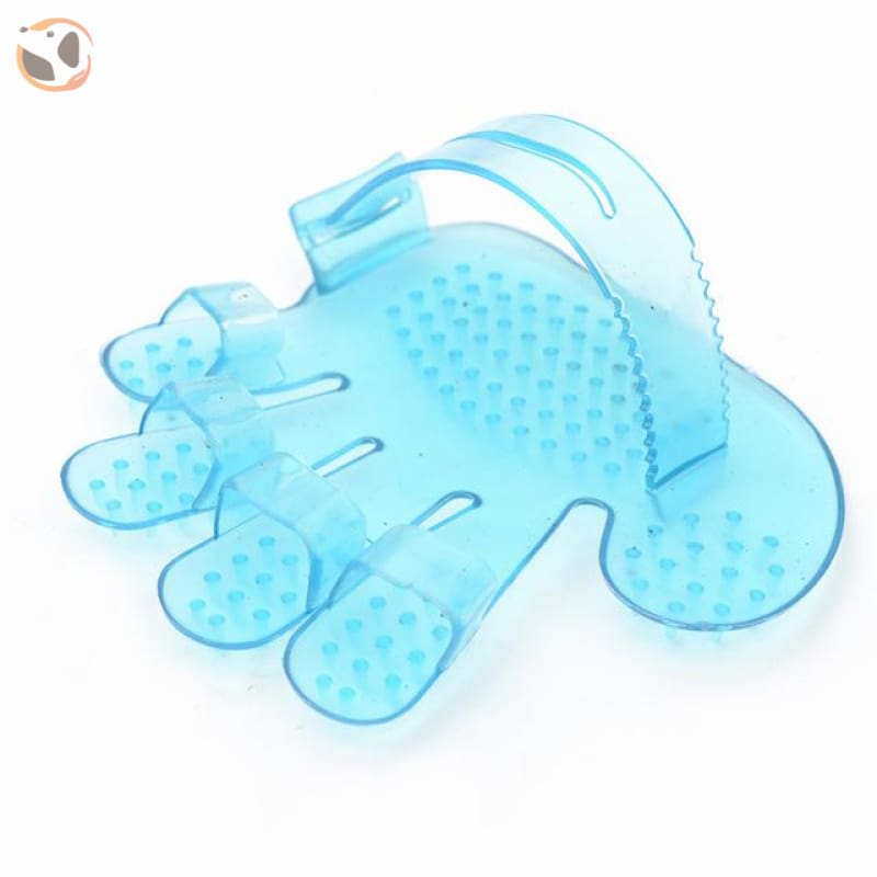 Cat Hair Removal Gloves&Mitts - blue 2
